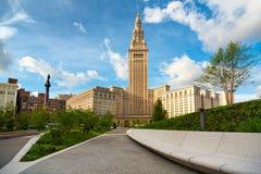 Torre y plaza imagenes de archivo