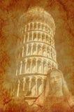 Torre y santo Fotos de archivo