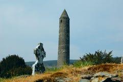 Torre y sepulcro redondos Fotos de archivo