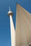 Torre y tejado Imagen de archivo libre de regalías