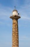 Torre Yorkshire del nord del faro di Whitby Fotografie Stock Libere da Diritti