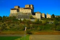 Torrechiara Castle Stock Image