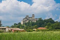Torrechiara Castle. Emilia-Romagna. Italy. Stock Image