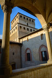 Torrechiara castle Royalty Free Stock Images
