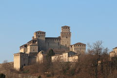 Torrechiara castle, Parma, Italy Stock Photos
