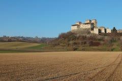 Torrechiara castle, Parma, Italy Royalty Free Stock Image