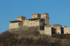 Torrechiara castle, Parma, Italy Stock Photo