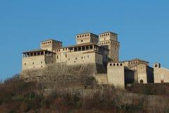 Torrechiara castle, Parma, Italy Stock Photo