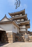Torrecilla de Kitanomaru Tsukimi (1676) del castillo de Takamatsu, Japón Foto de archivo libre de regalías