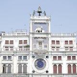 Torredell'orologio, Venetië, Italië Royalty-vrije Stock Foto's