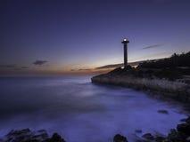 Torredembarra latarnia morska Zdjęcie Stock