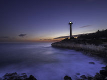 Torredembarras Leuchtturm stockfoto