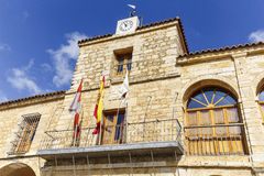 Torrelobaton council province of Valladolid  Spain Royalty Free Stock Photo