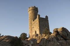 Torrelodones`s castle. Madrid, Spain. The Torrelodones`s castle. Madrid, Spain Royalty Free Stock Photography