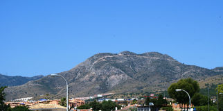 Torremolinos and Benalmadena in Spain Royalty Free Stock Images