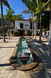 Torremolinos botanische tuinen Jardin Botanico Molino DE Inca stock afbeeldingen