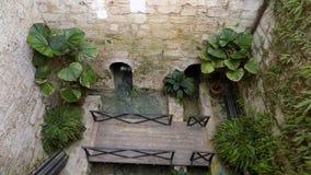 Torremolinos-Botanisk Trädgård-MOLINO DEL INCA Royaltyfri Fotografi