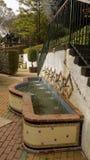 Torremolinos-Botanisk Trädgård-MOLINO DEL INCA Arkivbild