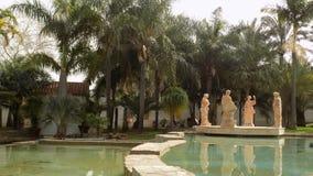 Torremolinos-botaniska trädgårdar-MOLINO DEL INCA Royaltyfri Bild