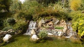 Torremolinos-botaniska trädgårdar-MOLINO DEL INCA Arkivbild