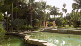 Torremolinos-botaniska trädgårdar-MOLINO DEL INCA Royaltyfria Bilder