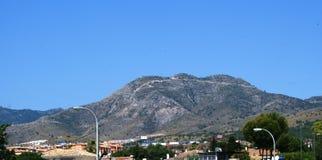 Torremolinos en Benalmadena in Spanje Royalty-vrije Stock Afbeeldingen