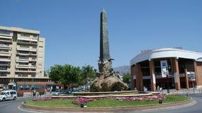Torremolinos und Benalmadena in Spanien stockbild