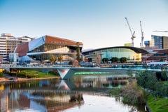 Torrens-Fußbrücke in Adelaide Lizenzfreie Stockbilder