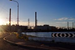 Torrens Island Power Station Royalty Free Stock Image