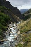 Torrent in Chile royalty free stock photography