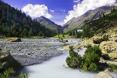 torrent de montagne Image libre de droits
