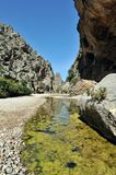 Torrent de Pareis Canyon Stock Image