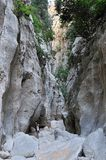 Torrent De Pareis Canyon Royalty Free Stock Photo