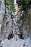 Torrent de Pareis Canyon Royalty Free Stock Photo