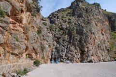 Torrent de Pareis, Majorca Imagenes de archivo