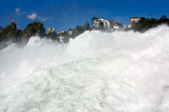 Torrent de Rhinefall, Suisse photos libres de droits