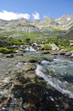 Torrent of high mountain Stock Image