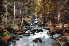 Torrent in South Tyrol, Italy Royalty Free Stock Photo