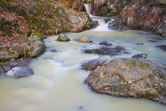 Torrent during thaw Stock Images