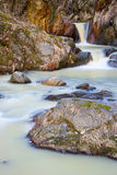 Torrent during thaw Royalty Free Stock Photos