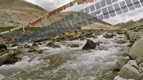 Torrente montano in Himalaya archivi video