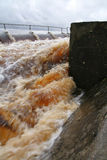 Torrential flood Royalty Free Stock Photo