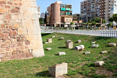 Torreon de San Vicente, Benicassim, España imagenes de archivo