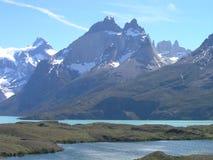 torres парка paine del Чили национальные Стоковое Изображение RF