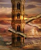 Torres altísimas Fotografía de archivo libre de regalías