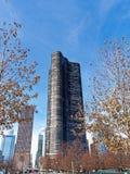 Torres altas residenciales modernas, Chicago Illinois imágenes de archivo libres de regalías