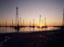 Torres ao horizonte Fotografia de Stock Royalty Free