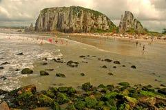 Torres Beach, Rio Grande do Sul Stock Photos