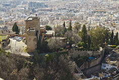Torres Bermejas, Granada Royalty Free Stock Photo