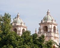 Torres da casa del Prado Teatro Foto de Stock